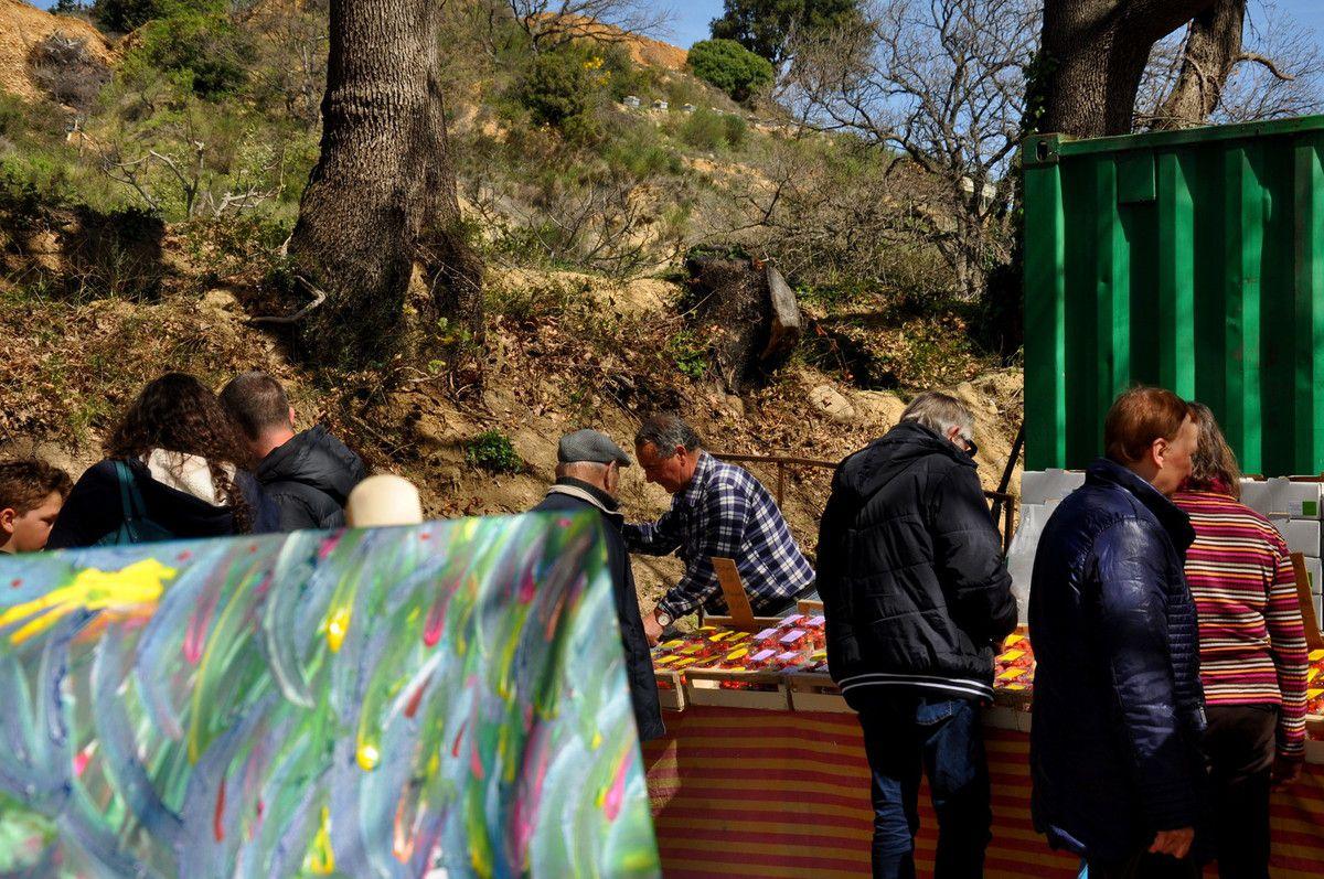 Place aux artistes à Irkat Lain.