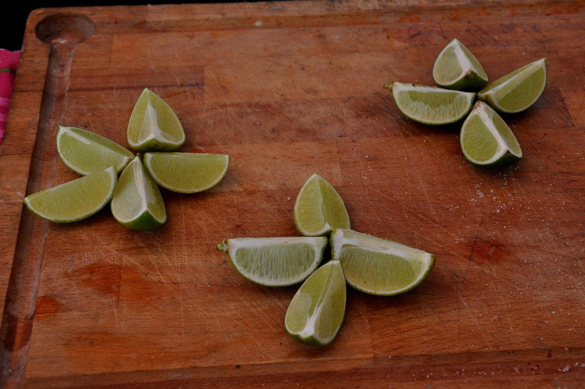 Citrons.