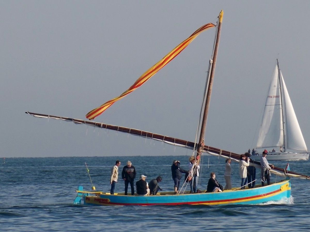 Une belle barque catalane.