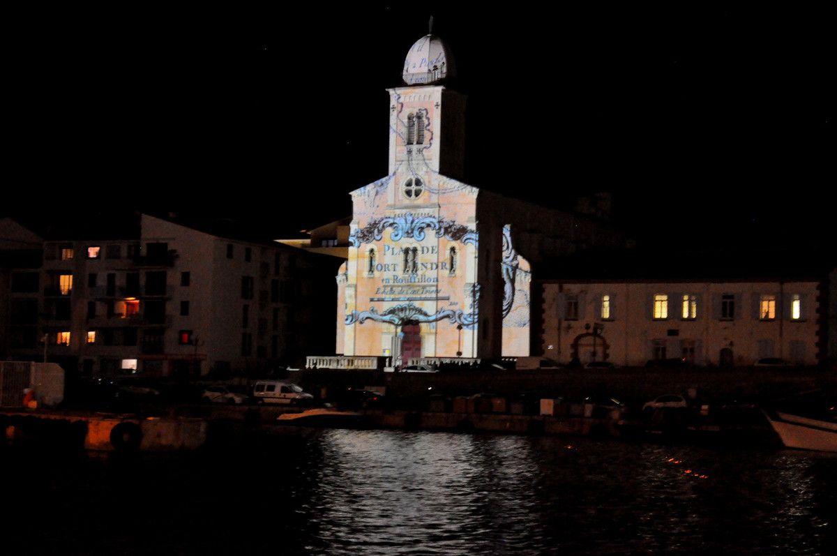 Après la carte et le plan de Port-Vendres, le final du spectacle, à suivre.