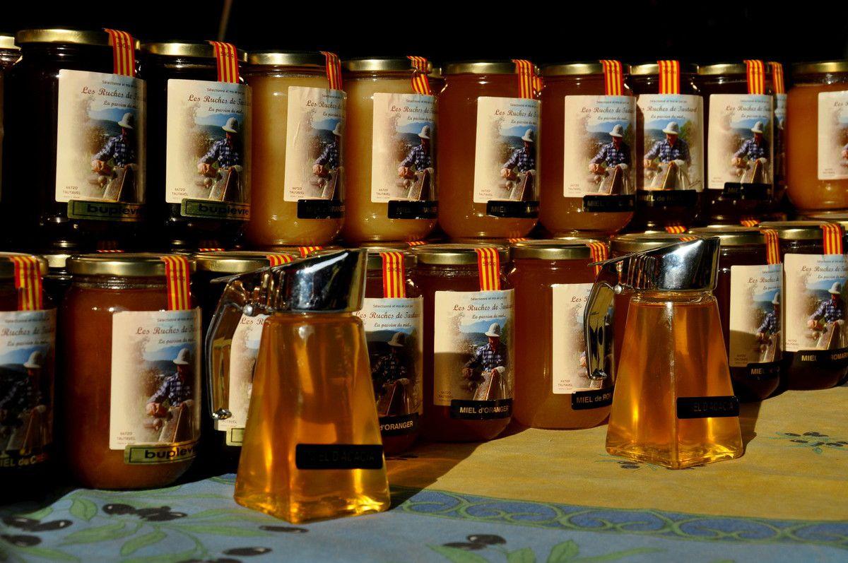 Les autres miels de la ruche de Tautavel.