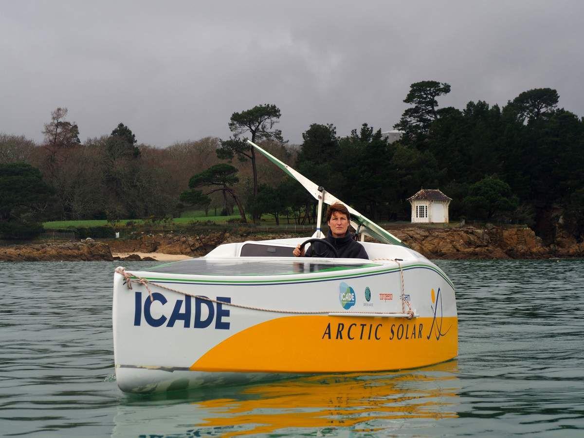 Le grand départ de l'expédition ARCTIC SOLAR BY ICADE