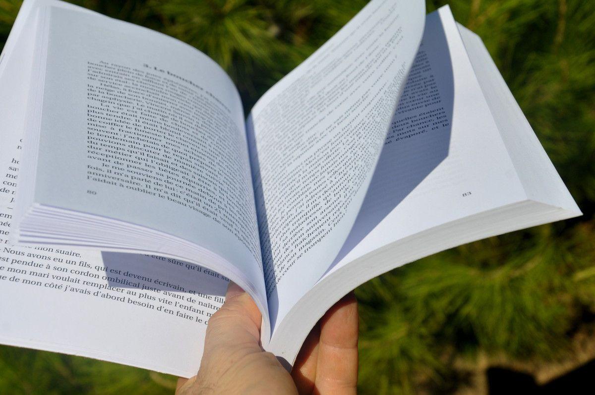 Le plaisir de tourner les pages dans le vent de la liberté