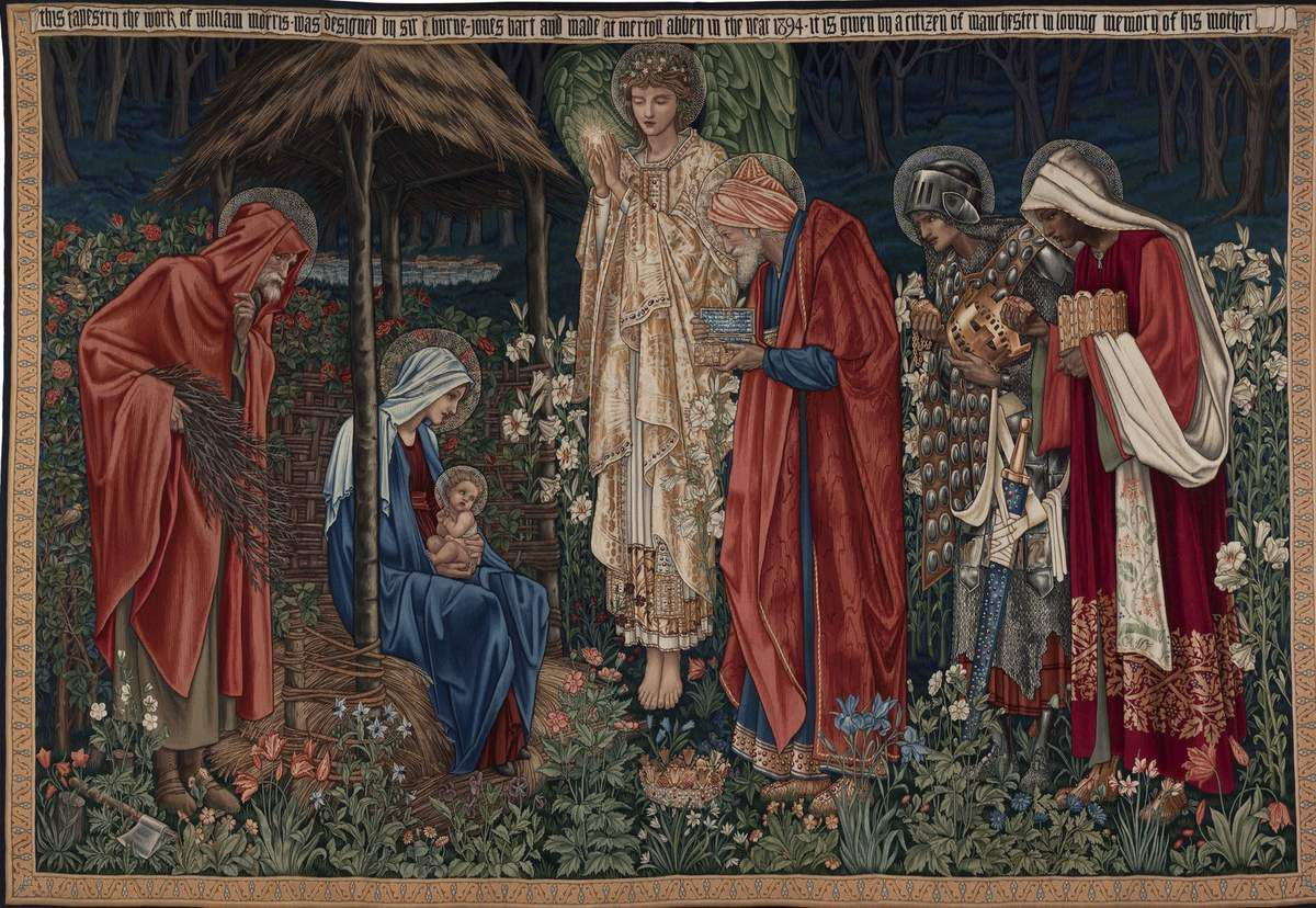 Adoration of the Magi - tapestry 2580x3840 mm - Mancherter Metropolitan Universite Special Collections