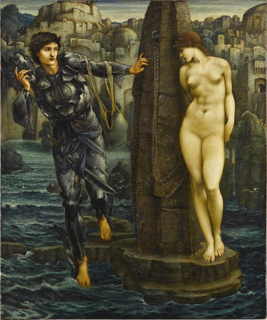 The Rock of Doom 1885-88 oil peint on canvas 1550x1300 mm Staatsgalerie Stuttgart