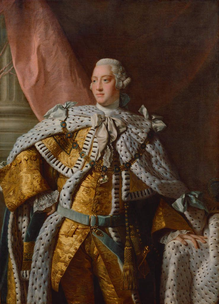 After Allan Ramsay, King George III, 1761–62 Oil on Canvas National Portrait Gallery, London © National Portrait Gallery, London