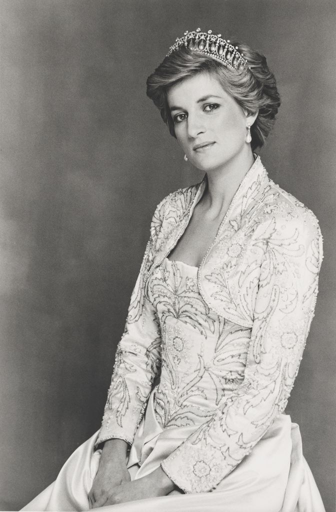 Terence Donovan, Diana, Princess of Wales, 1990 Bromide Print National Portrait Gallery, London, given by the photographer's widow, Diana Donovan, 1998, NPG P716 (11) Photograph Terence Donovan © Terence Donovan Archive
