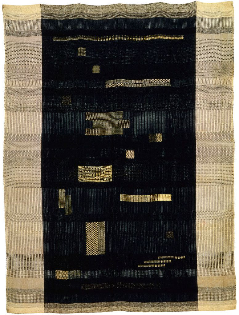 Anni Albers Ancient Writing 1936 Cotton and rayon 1505 x 1118 mm Smithsonian American Art Museum. Gift of John Young © 2018 The Josef and Anni Albers Foundation/Artists Rights Society (ARS), New York/DACS, London Photo: Princeton University Art Museum/Art Resource NY/Scala, Florence