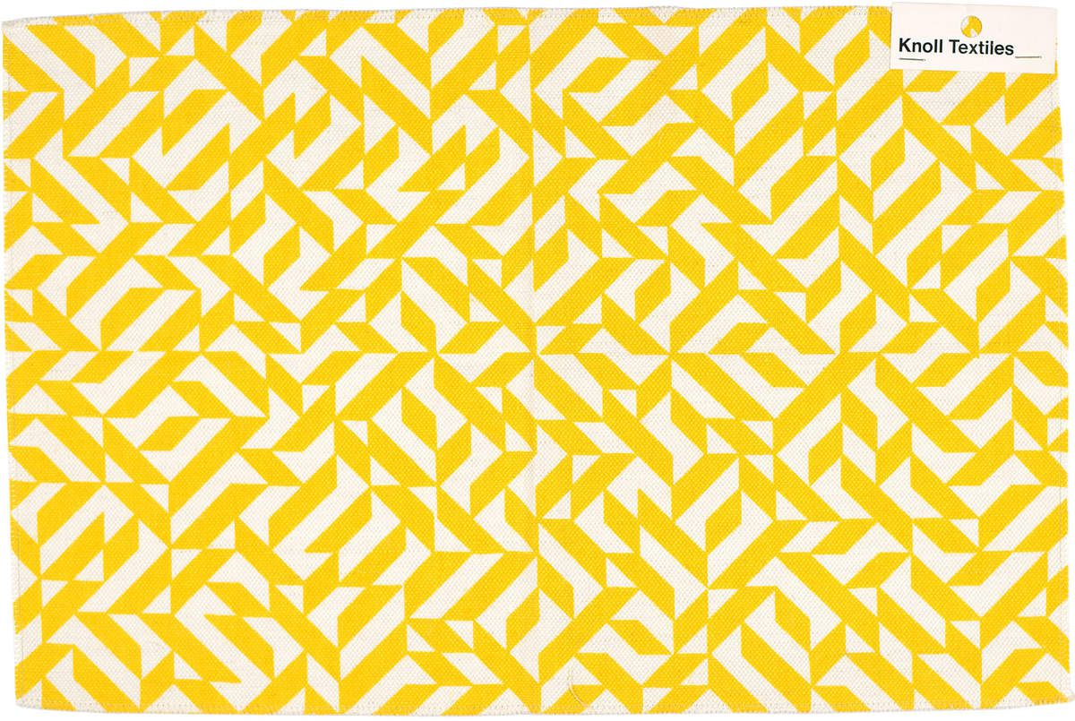 Anni Albers Eclat 1974 Silkscreen on woven fabric 3000 x 450 mm The Josef and Anni Albers Foundation © 2018 The Josef and Anni Albers Foundation and Knoll Textiles / Artists Rights Society (ARS), New York/DACS, London
