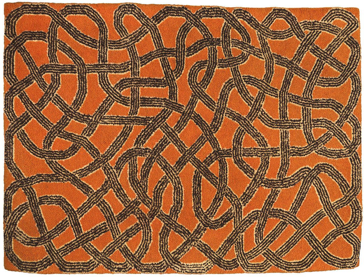 Anni Albers Rug 1959 Wool hand woven 1220 x 1650 mm Herbert F. Johnson Museum of Art, Cornell University © 2018 The Josef and Anni Albers Foundation / Artists Rights Society (ARS), New York/DACS, London