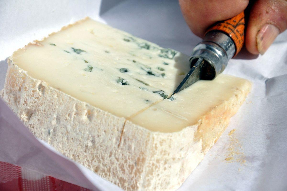 Du bleu, un excellent fromage.
