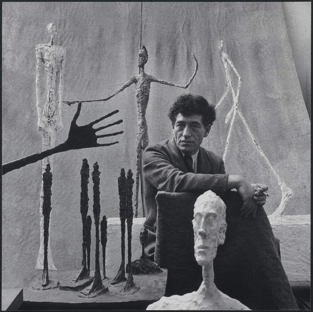 ALBERTO GIACOMETTI Alberto Giacometti, 1951 Photographie de Gordon Parks ©The Gordon Parks Foundation