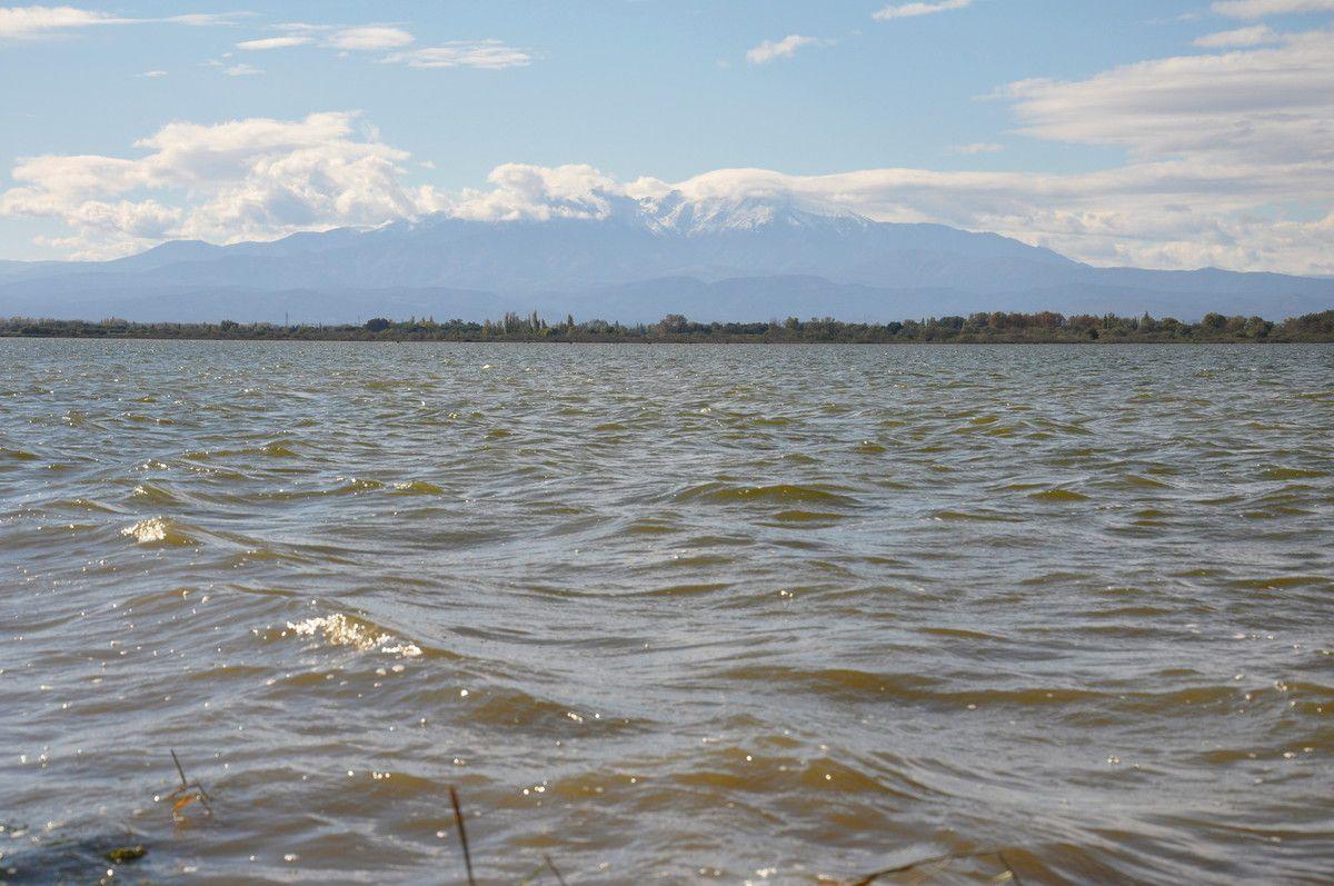Paysage avec le Canigou (deux dernière), un peu dans les nuages