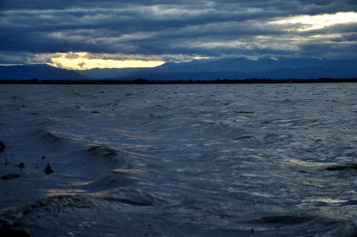 Entre deux mers ou lac et nuages