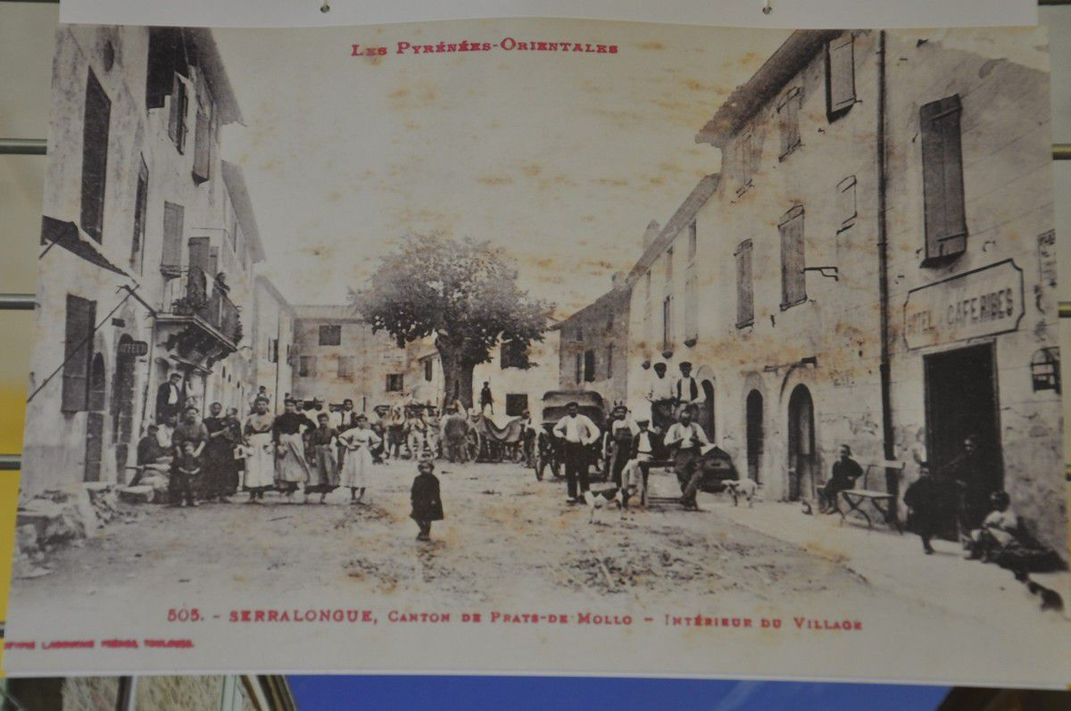 3 cartes postale de Serralongue