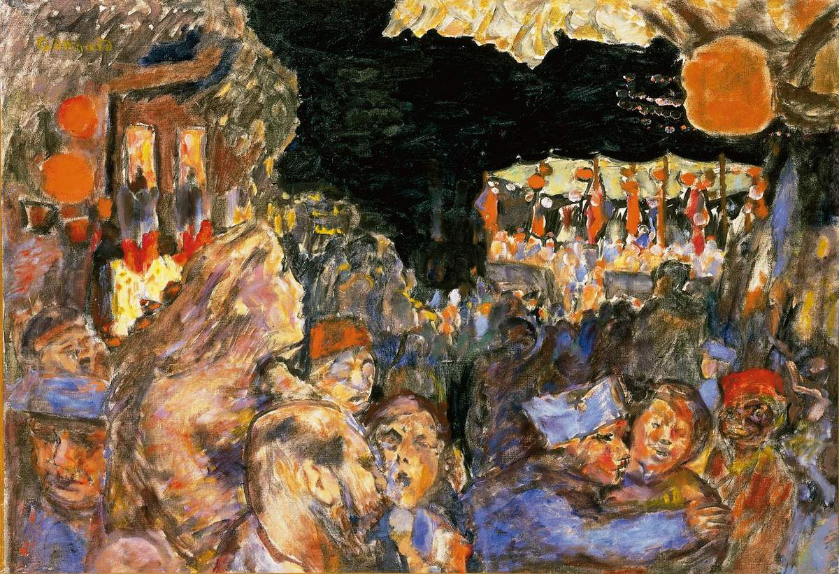 Pierre Bonnard - The Fourteenth of July 1918 Pierre Bonnard (1867 – 1947) The Fourteenth of July 1918 Oil paint on canvas 595 x 853 mm Private collection