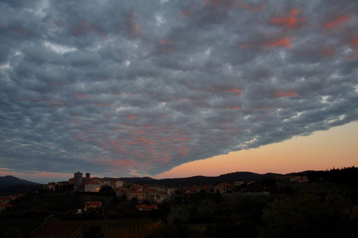 Une mer de nuages