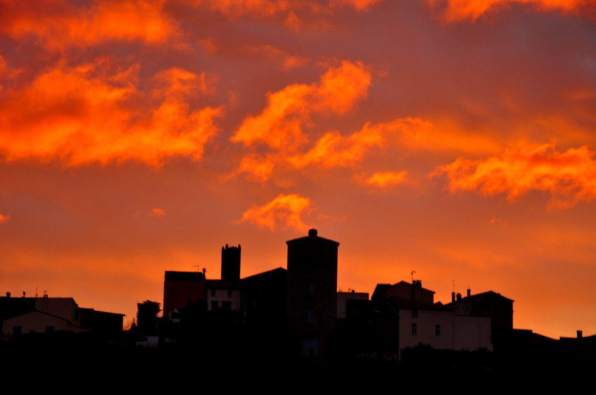 Ciel de feu, ciel extraordinaire, la sélection n'a pas été facile pour ici.