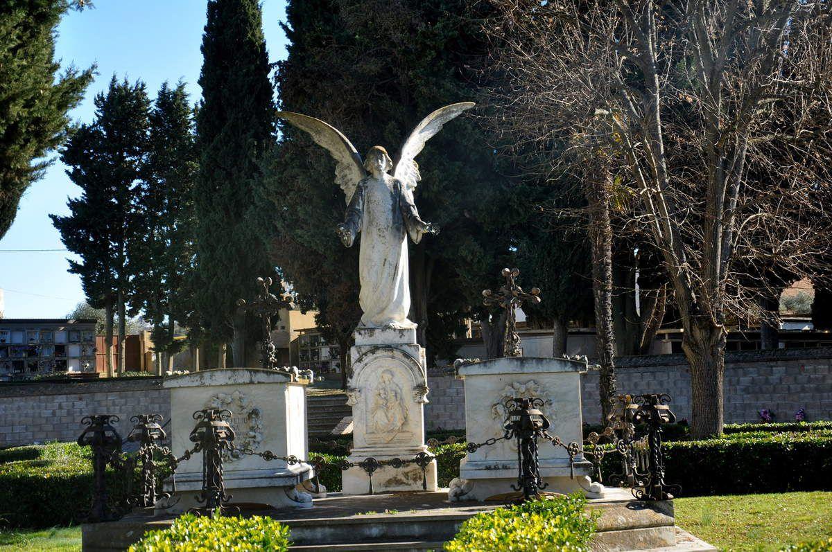 La visite du cimetière.