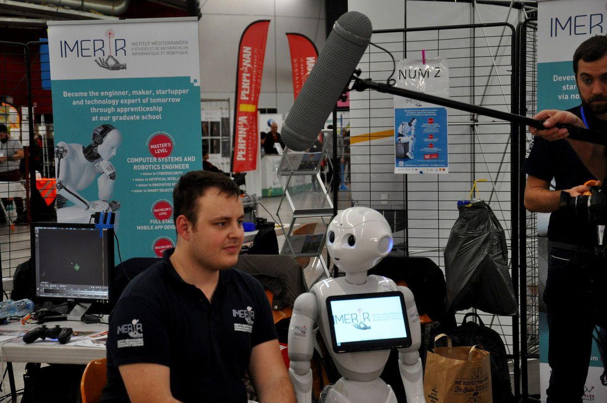 interview avec Pipper , le robot d'IMERIR