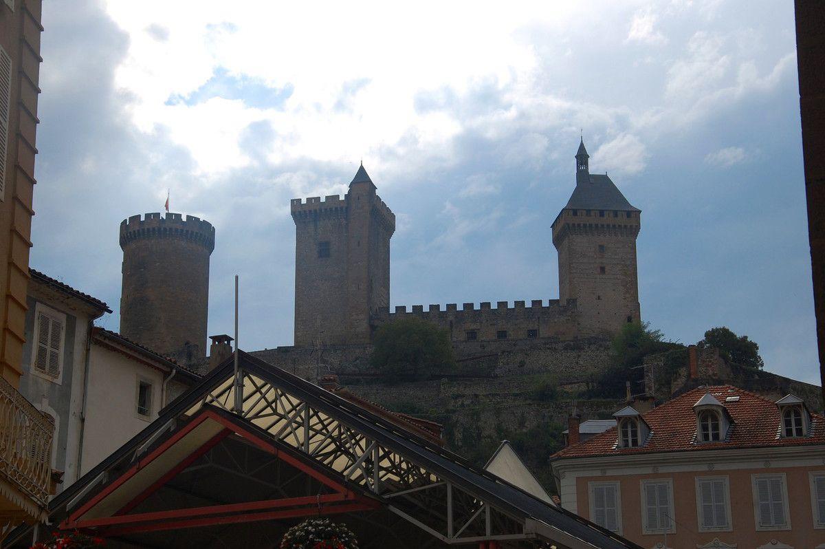 Dernière vue du centre sur le château.