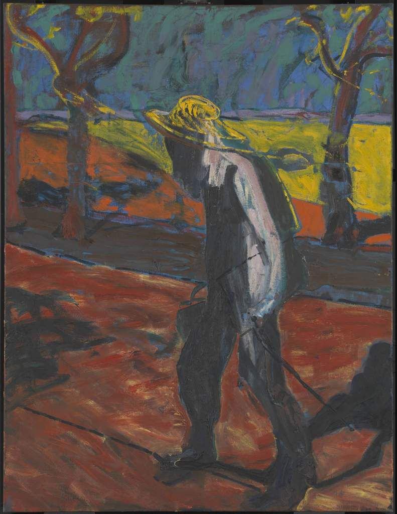 Francis Bacon (1909 – 1992) Study for Portrait of Van Gogh IV 1957 Oil paint on canvas 1524 x 1168 mm Tate © The Estate of Francis Bacon. All rights reserved. DACS, London.