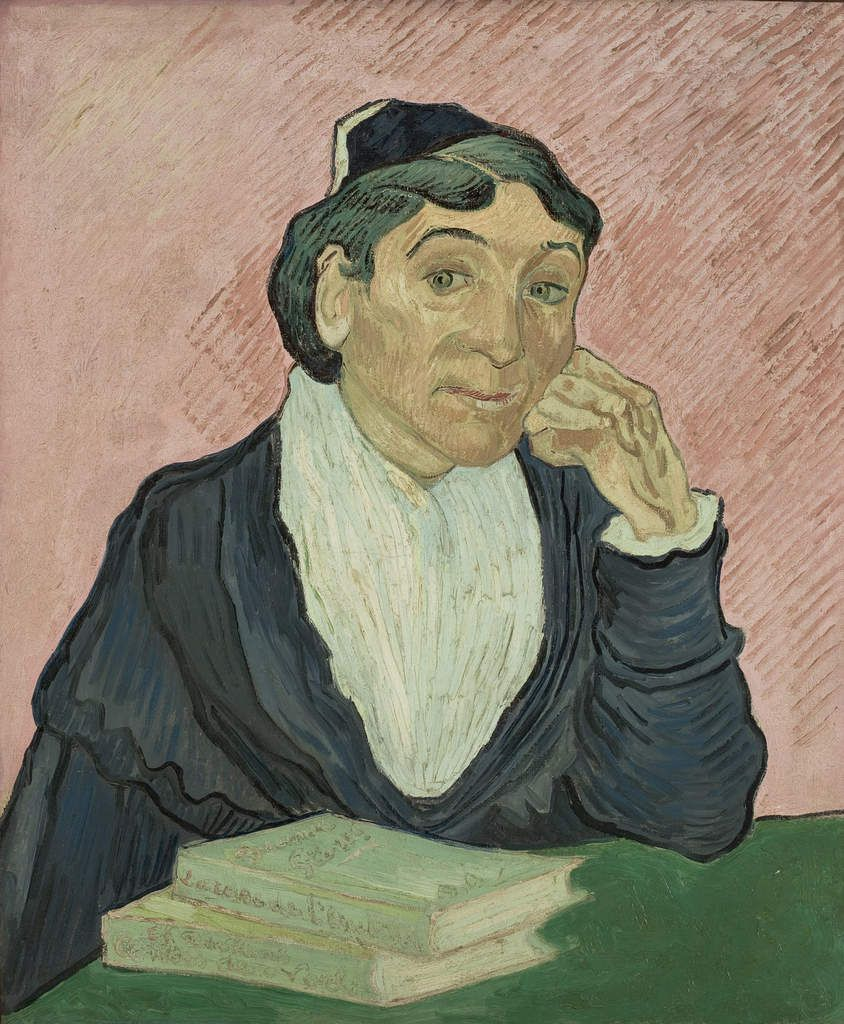 Vincent van Gogh (1853 – 1890) L'Arlésienne 1890 Oil paint on canvas 650 x 540 mm Collection MASP (São Paulo Museum of Art) Photo credit: João Musa
