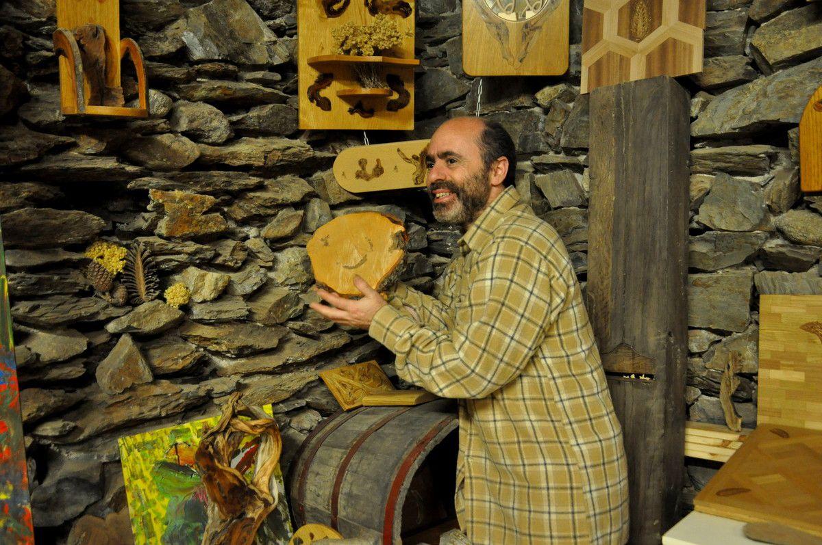 C'est la première fois, que le clin d'oeil passe ici en vedette pour les visiteurs, c'est le bois comme on l'aime.