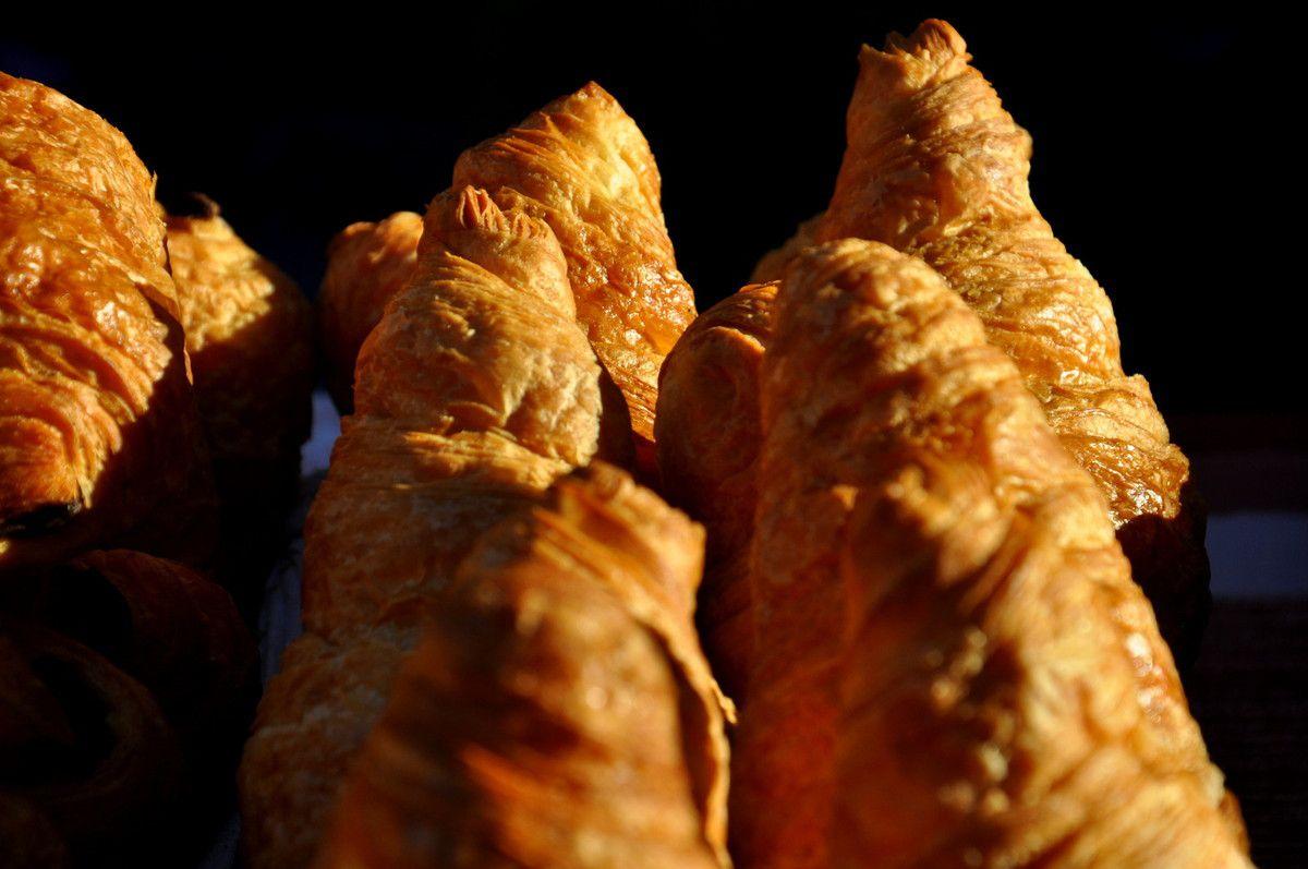 Des croissants qui donnent envie.