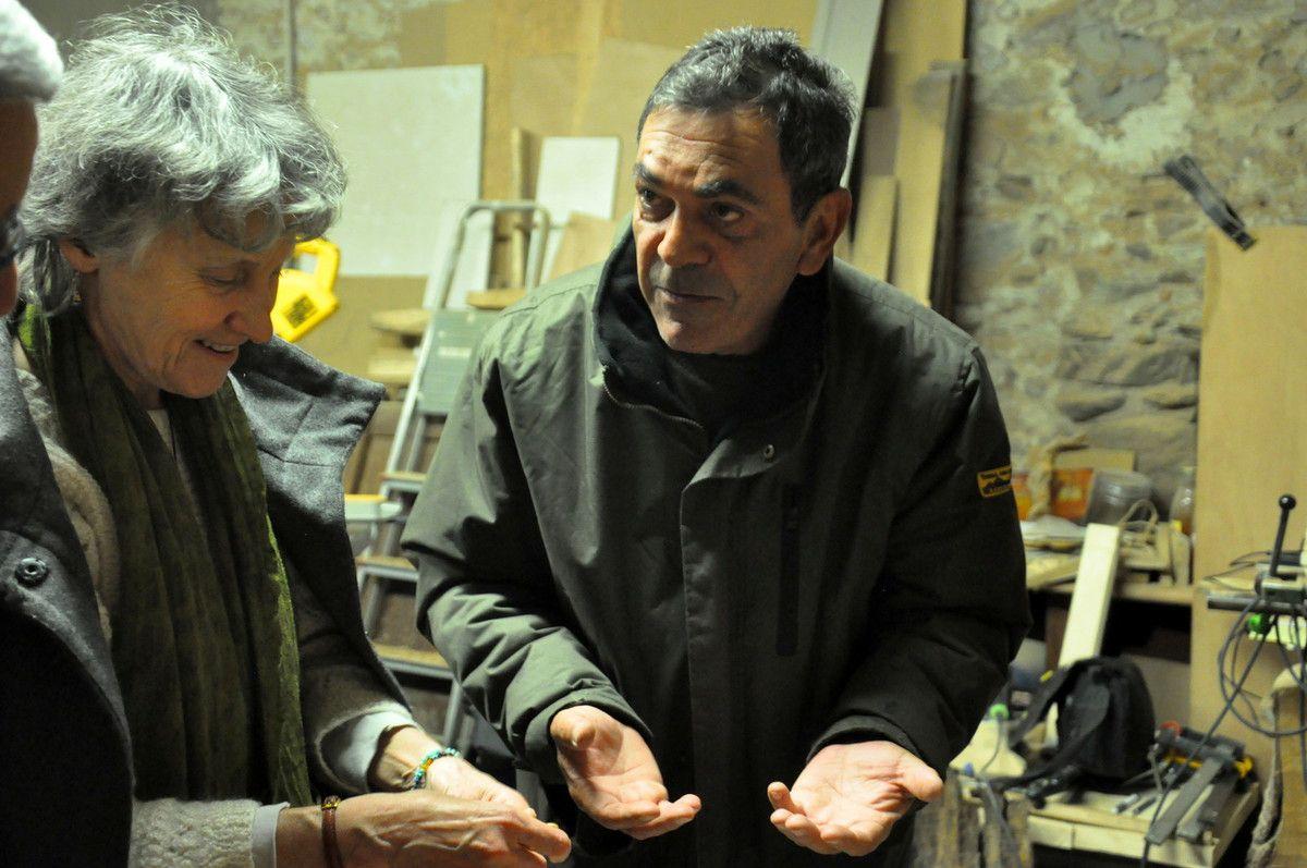 Avec Marcel Canals et le Vernissé