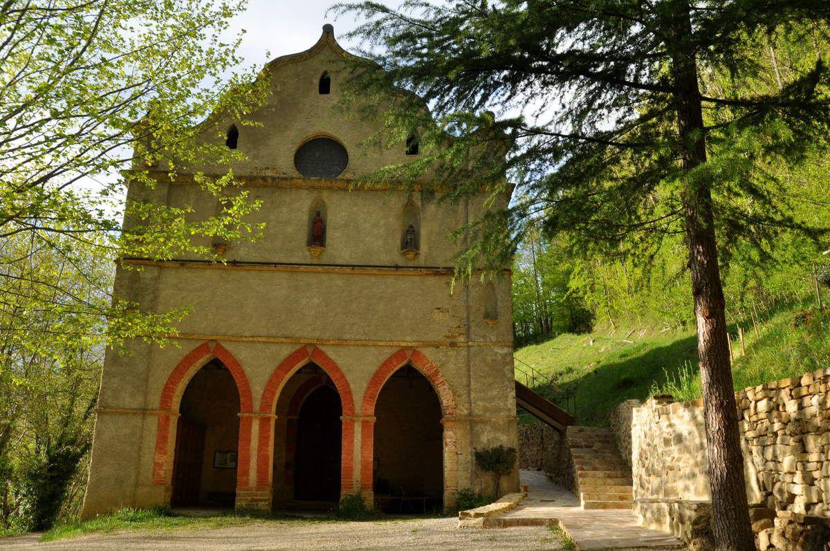 Voici Notre-Dame de Celles en Ariège.