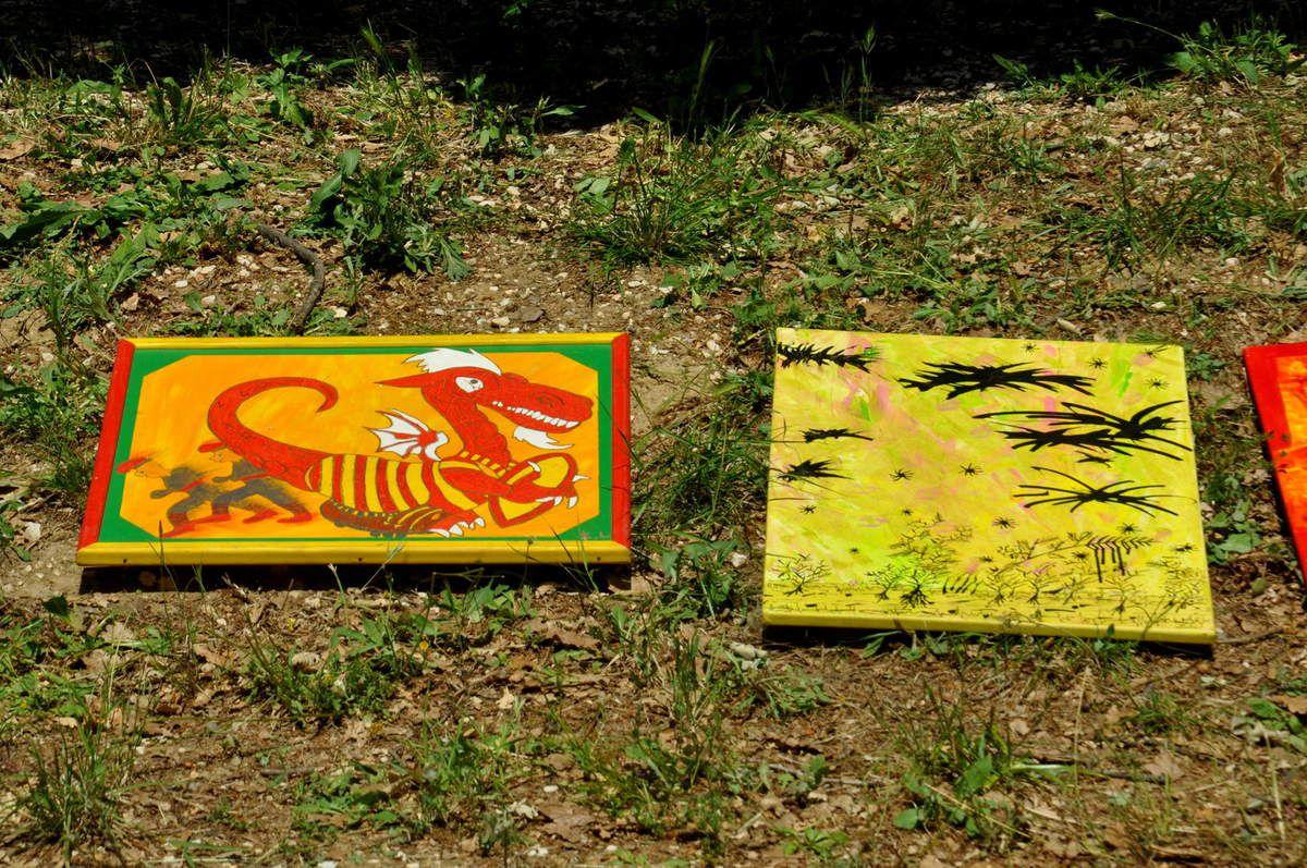 Les peintures d'Irkat Lain.