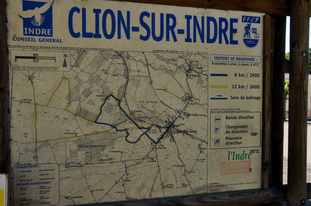 Un panneau pour me souvenir du nom de la commune.