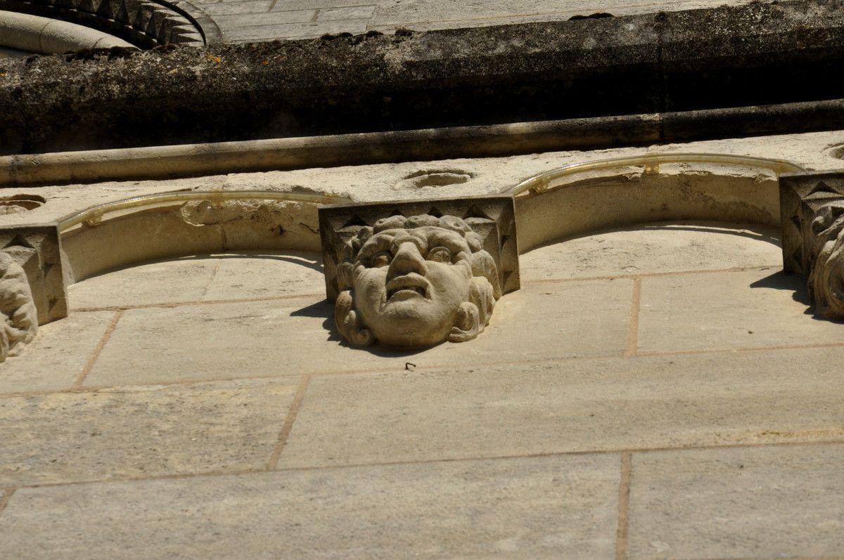 Détails des sculptures