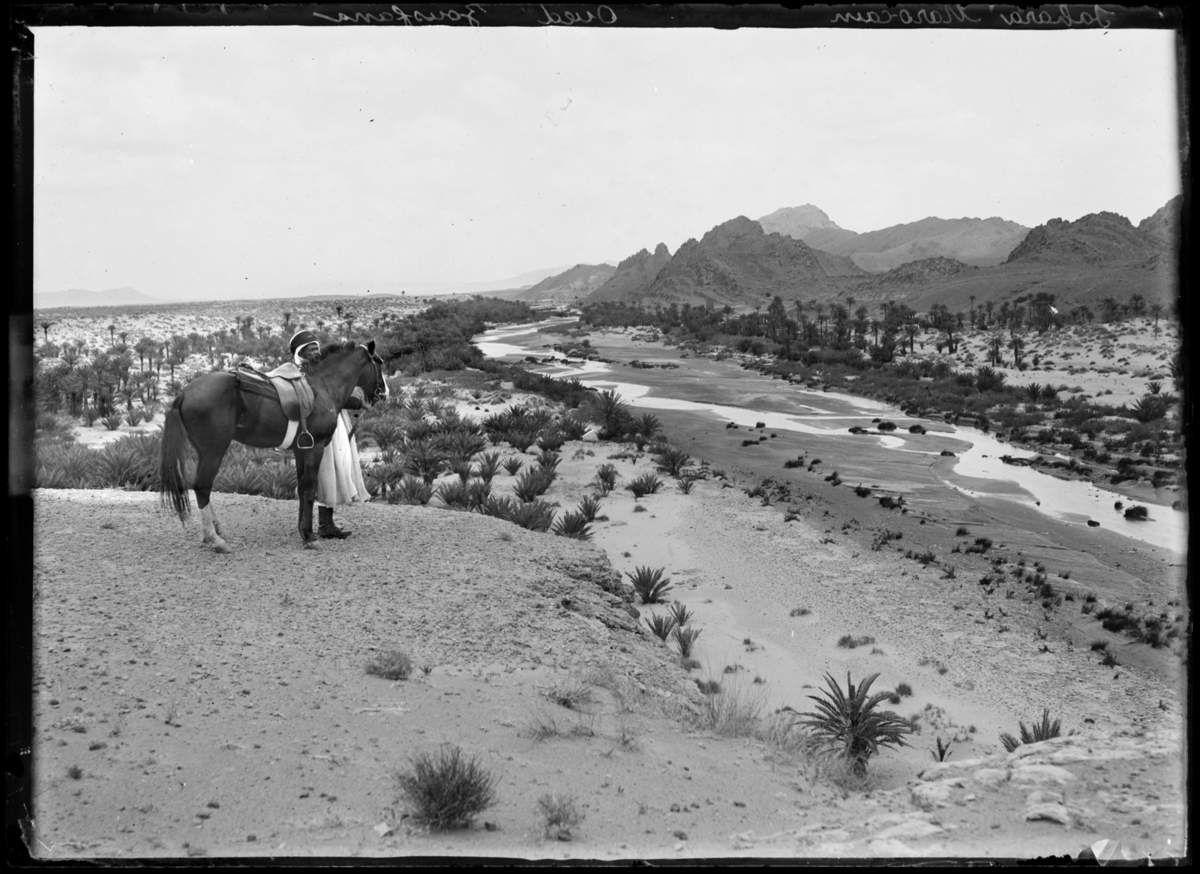 Sahara marocain Oued Zousfana, entre 1906 et 1915