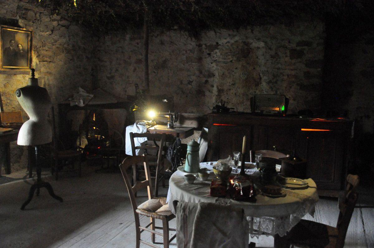 La cuisine d'antan.