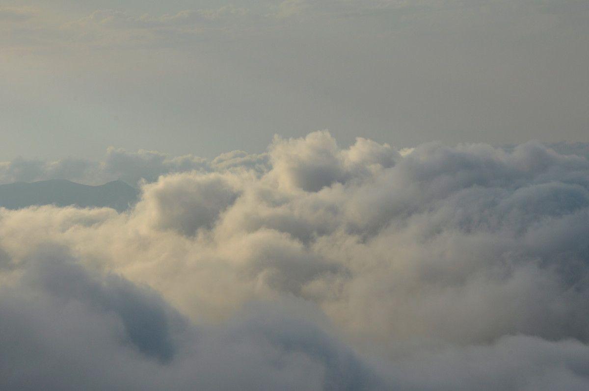 Gros plan sur un nuage.
