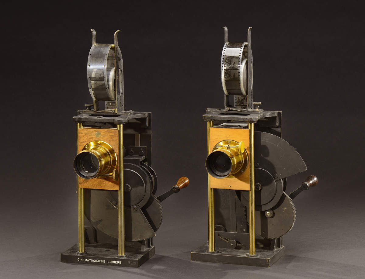 36-Cinématographe Spécial projection modèles A et B 1897