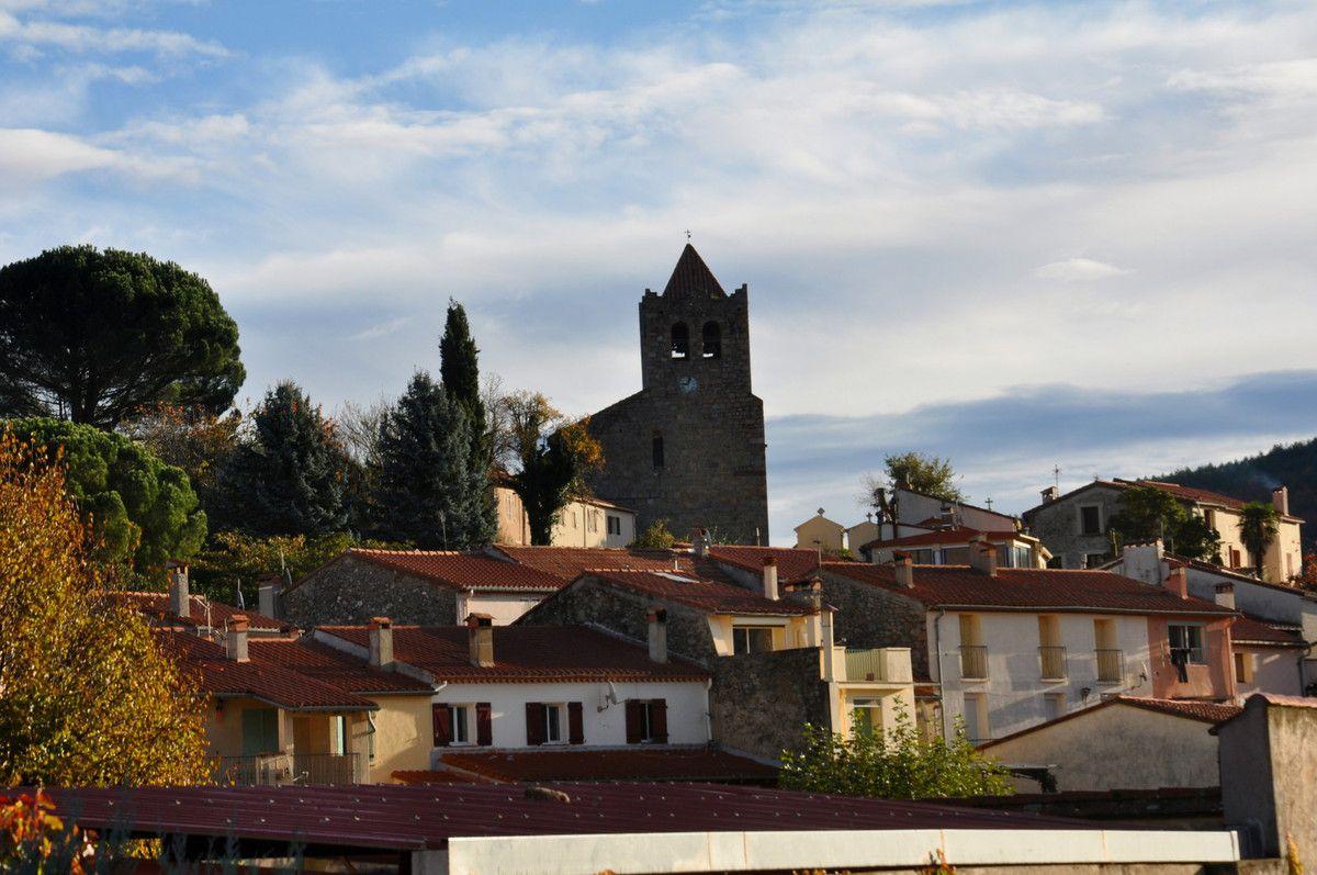 Une vue sur le centre ville