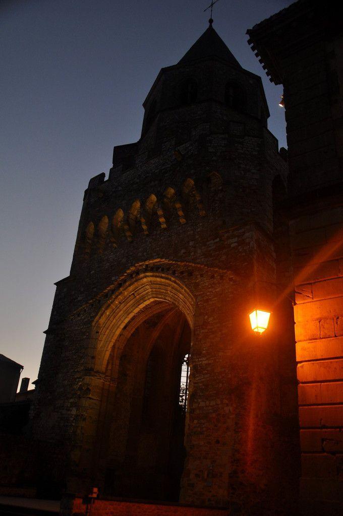 J'arrive au clocher Saint Martin.
