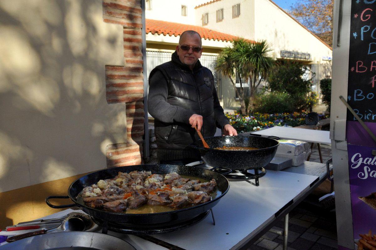 Le repas avec la créperie du Roussillon
