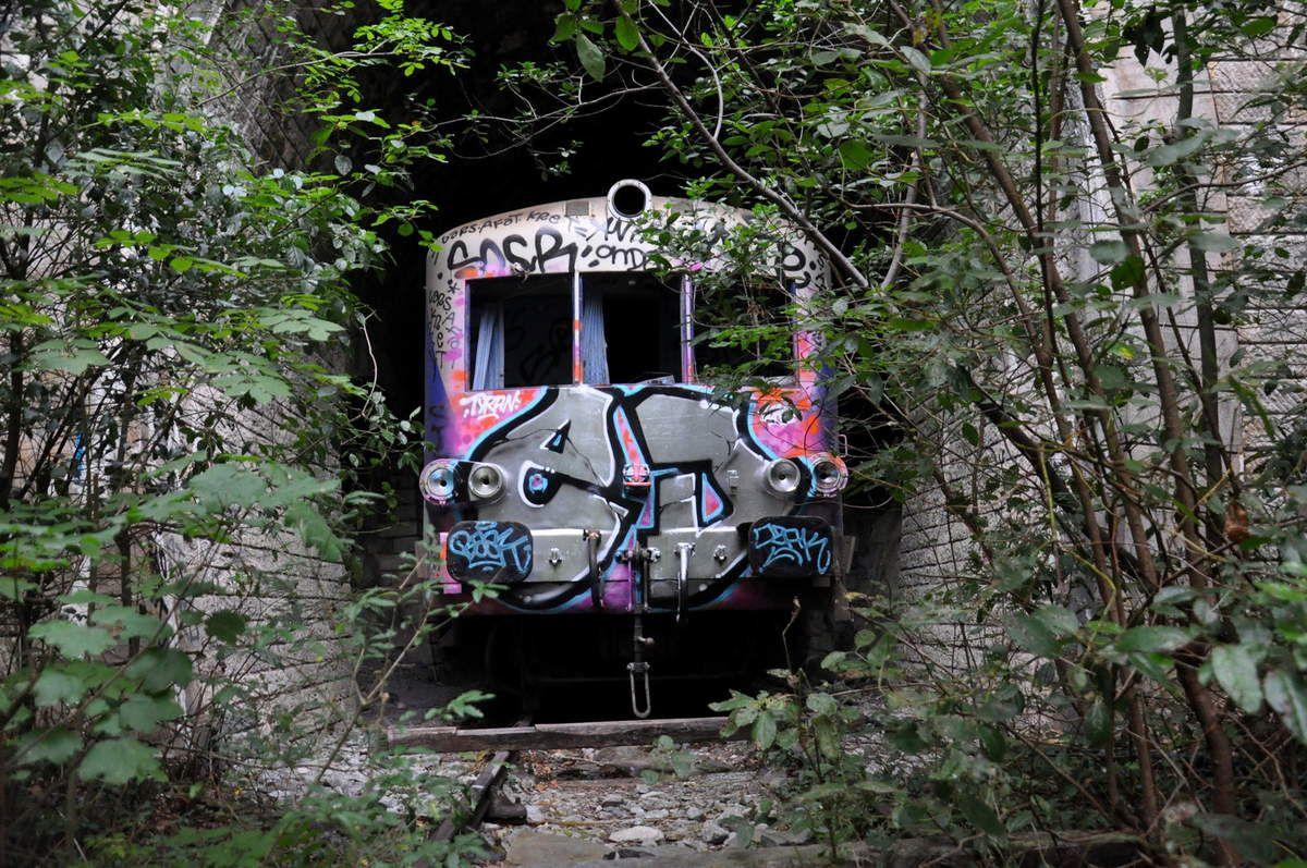 Un train bloqué ici.