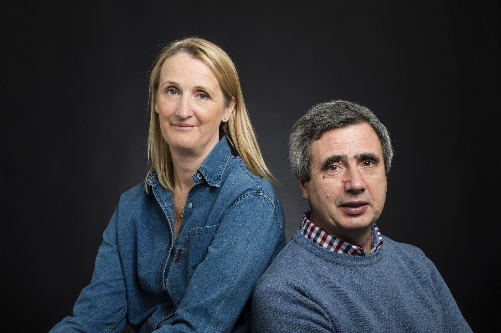 Portrait Lucy et Jorge Orta