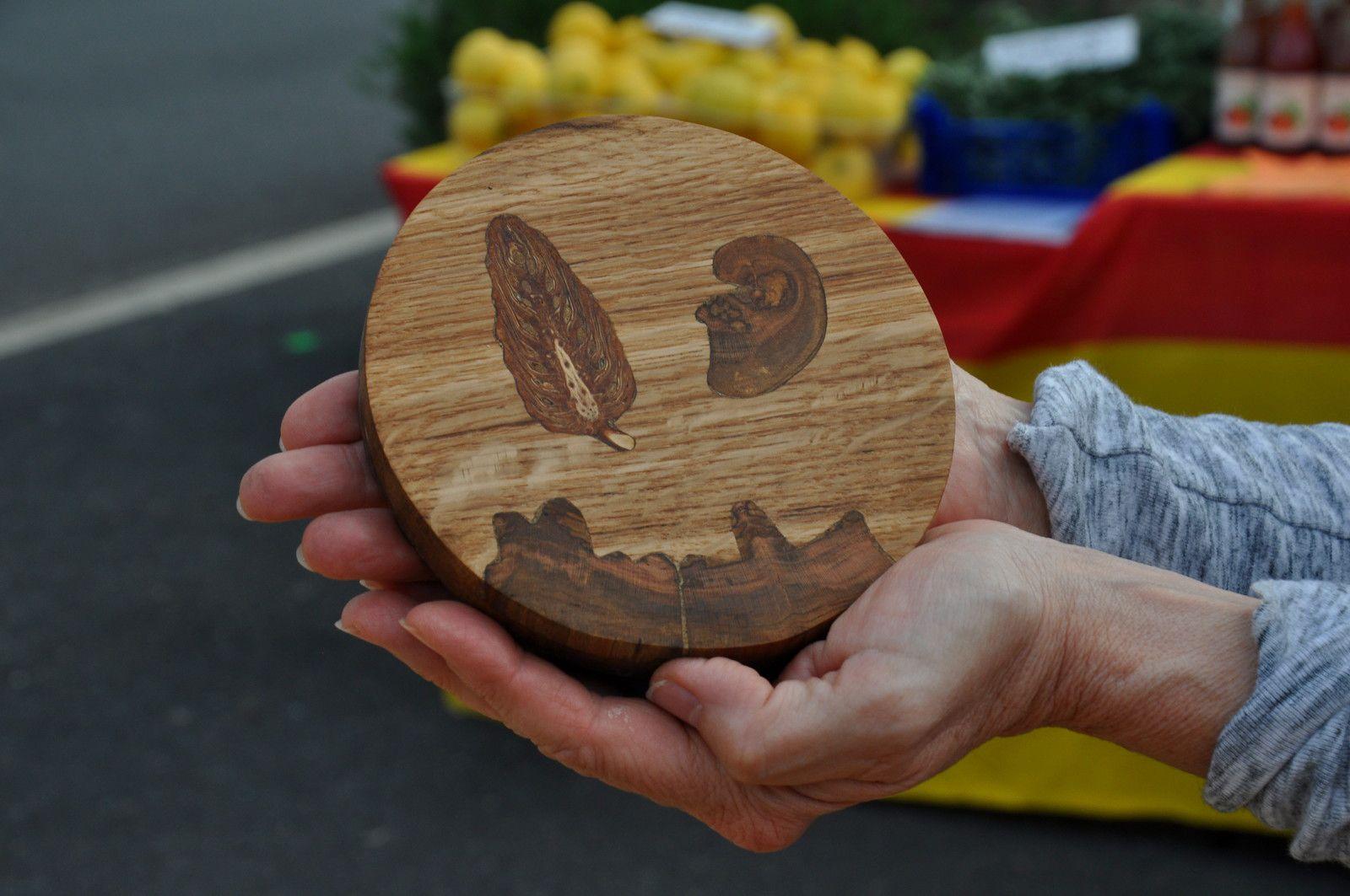 L'artisanat d'art avec la pièce de Quéribus qui change de main