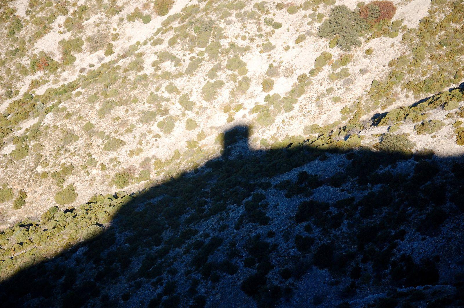 L'ombre de la tour.
