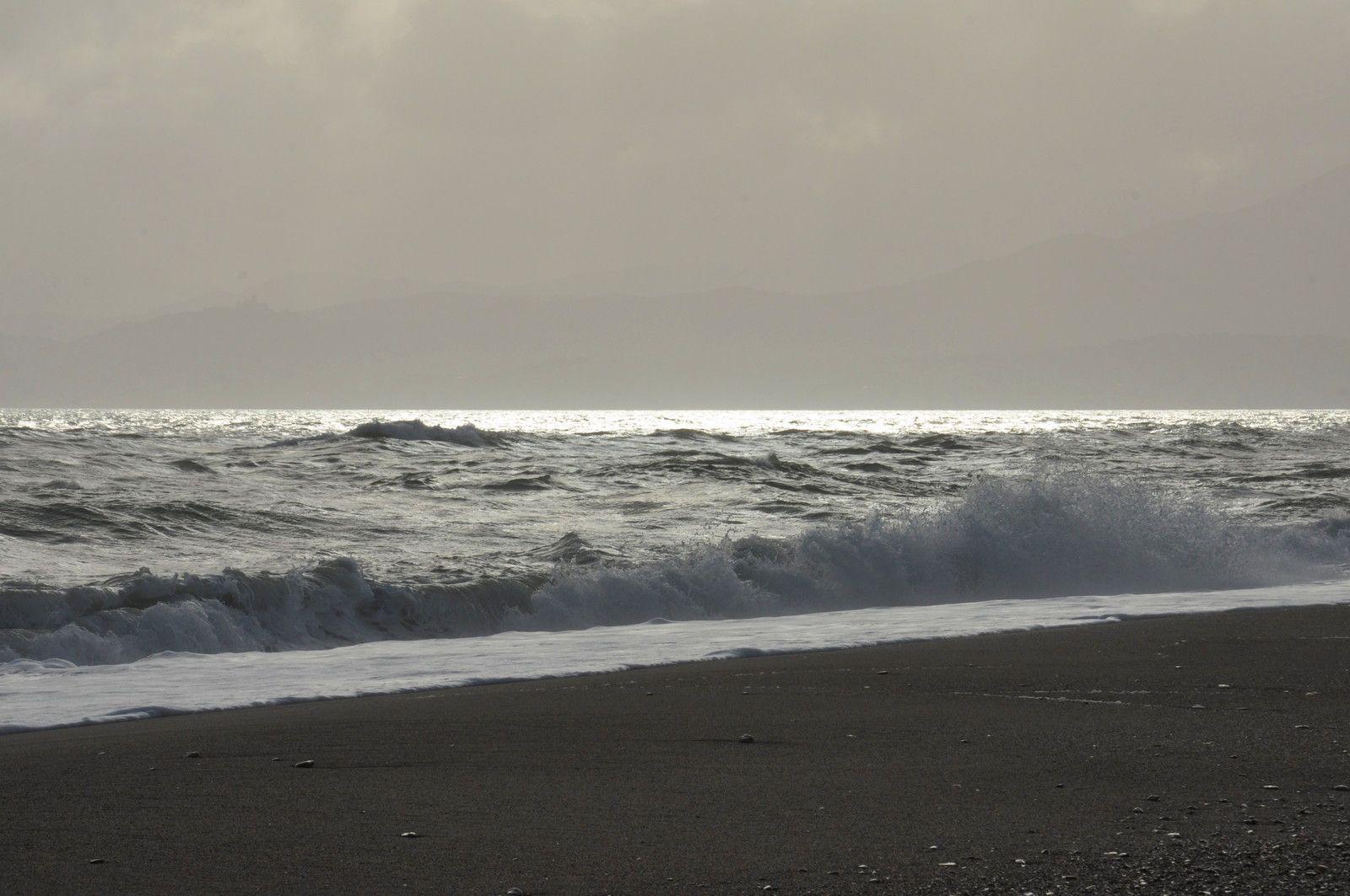 Un moment tranquille en bord de mer
