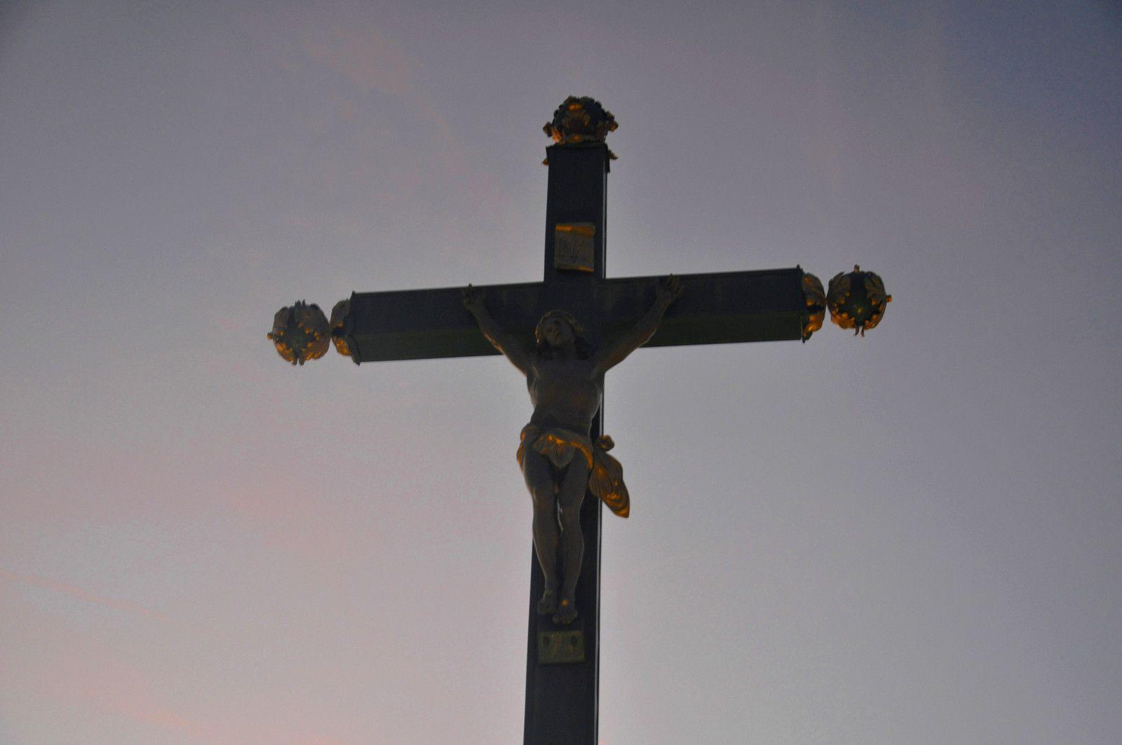 De retour à la grande croix.