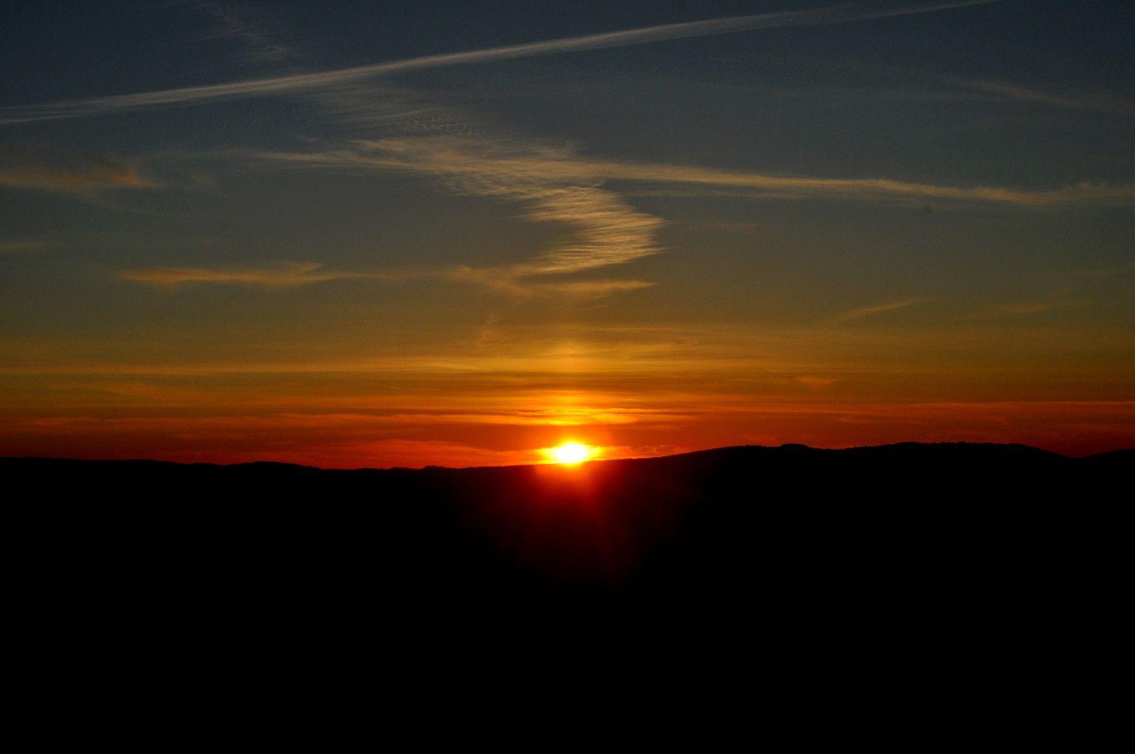 Pas encore le dernier soleil de l'Ascension.
