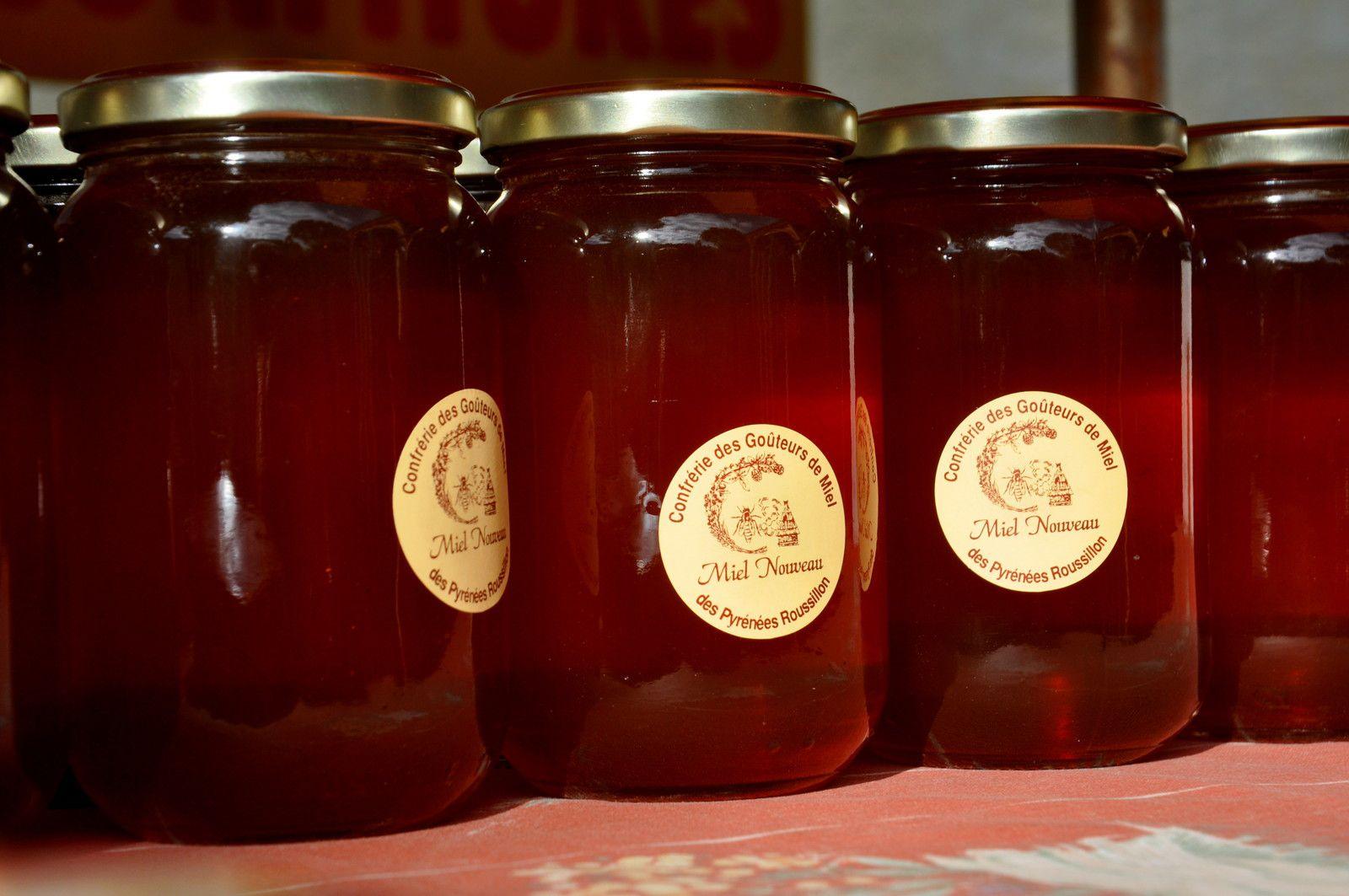 Les pots du miel nouveau