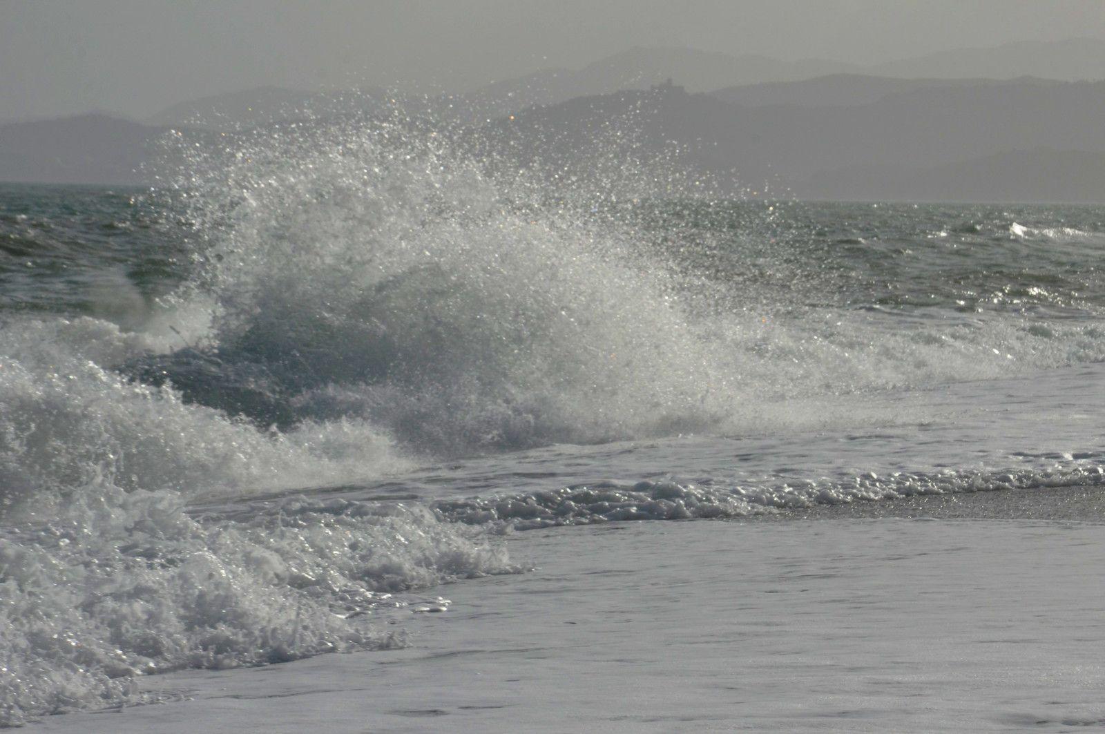 La mer, toujours la mer en spectable.